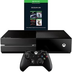 Xbox One 500GB + Escolha Seu Jogo (Via Download) - R$ 929,52