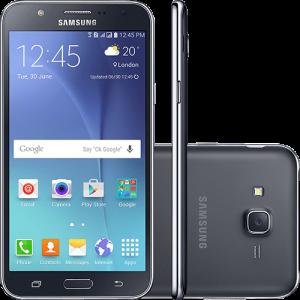 "Smartphone Samsung Galaxy J7 Duos Dual Chip Android 5.1 Tela 5.5"" 16GB 4G Câmera 13MP (Preto ou Branco)"