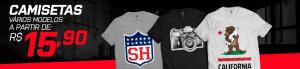 Camisetas Masculina - Br Shops - R$16