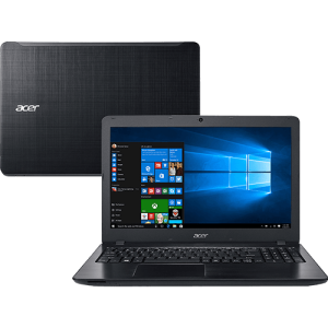 "Notebook Acer F5-573-521B Intel Core i5 8GB 1TB Tela 15.6"" Windows 10 - Preto, 1829,52"