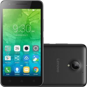 "[Americanas] Smartphone Lenovo Vibe C2 Dual Chip Android 6.0 Tela 5"" 16GB 4G Câmera 8MP - Preto"