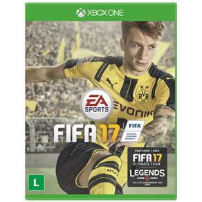 FIFA 17 XBOX ONE R$119