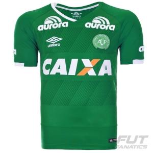Camisa Umbro Chapecoense I 2016 Juvenil por R$200