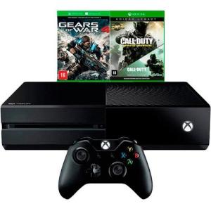 Console Xbox One 500GB + 2 Jogos + Controle Sem Fio R$1.299,99