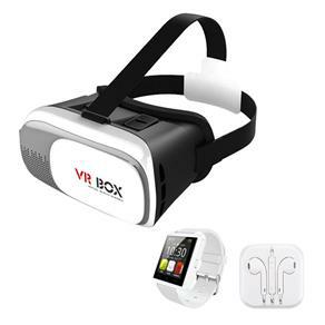 Kit Relógio Smart Esportivo + Óculos VR + Fone De Ouvido Frete gratis