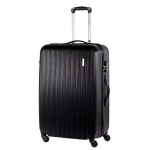 Mala para Viagem Travel Max com Giro 360º M - Preta por R$ 150