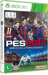 Pro Evolution Soccer 2017 (Xbox 360) por R$50