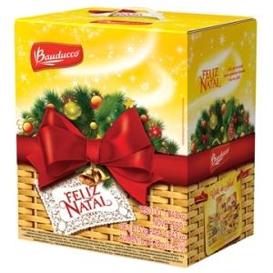 Cesta de Natal Pequena - Bauducco | R$43