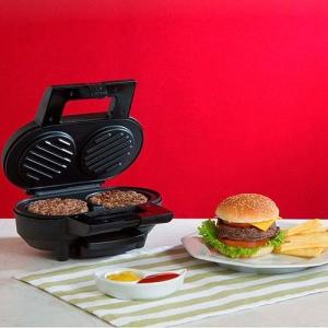 Máquina de Hambúrguer Fun Kitchen SS-1010G Preta - R$65