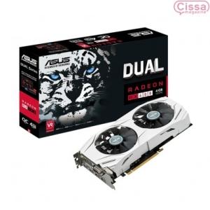 Placa de Vídeo ASUS Radeon RX 480 OC 4GB DUAL - R$955