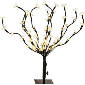 Árvore de Mesa Cerejeira 60 LEDs, 45cm - Orb Christmas.