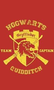 [Comic Store] Camiseta Harry Potter Hogwarts Team Captain