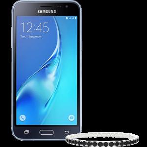 Smartphone Samsung Galaxy J3 Dual Chip Android + Pulseira Swarovski  por R$ 486
