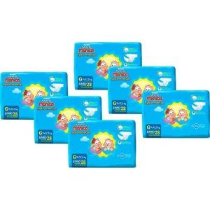 Kit 6 Fraldas Huggies Turma da Mônica Tripla Proteção (P, M, G e EG) - {1x cartão ou Boleto}