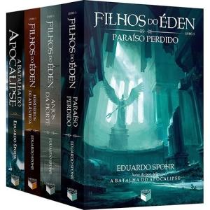 Livro - Box - Coleção Filhos do Éden + A Batalha do Apocalipse (4 Livros) - R$60