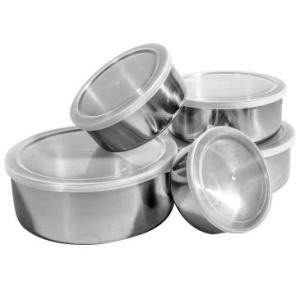 Conjunto de Potes e Tigelas por R$ 19,90