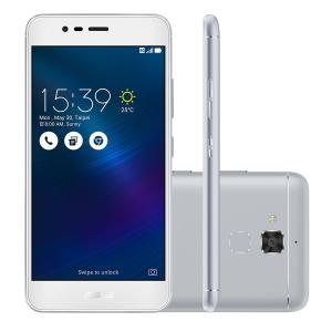 "Smartphone Asus Zenfone 3 Max 16GB Prata 4G Tela 5.2"" Câmera 13MP Android 6.0 por R$879"