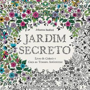 Jardim Secreto: Livro de Colorir e Caça ao Tesouro Antiestresse por R$3