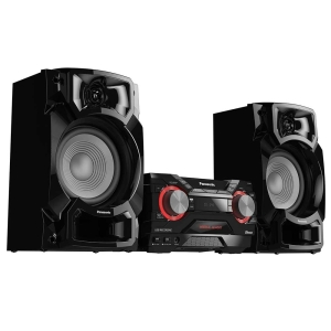 Mini System SC-AKX440LBK 2 USB, Bluetooth, Max Juke, 580W RMS - Panasonic | R$ 836