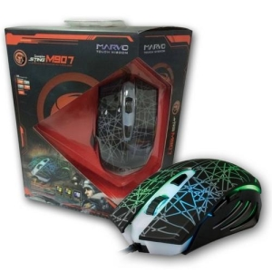 Mouse Gamer Óptico Usb 3200 Dpi 7 Botões 7 Cores M907 Marvo Gamer - R$58