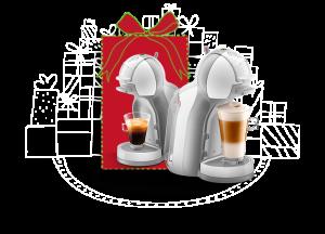 Compre uma máquina Dolce Gusto para você e ganhe outra - Natal em Dobro