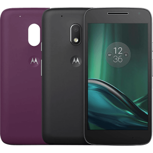 Smartphone Moto G 4 Play DTV Colors Dual Chip Android 6.0 Tela 5'' 16GB Câmera 8MP - Preto - R$719