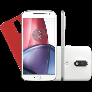 Smartphone Motorola Moto G 4 Plus Dual Chip Android 6.0 Tela 5.5'' 32GB Câmera 16MP por R$1053