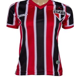 Camisa Feminina Penalty São Paulo II Sem Número e Sem Patrocínio - R$50