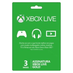 Xbox Live Gold - 3 Meses