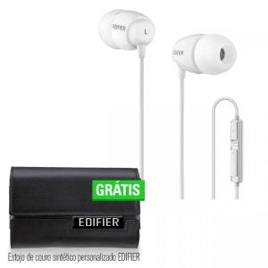 Fone de Ouvido K210 Edifier - Branco - R$49