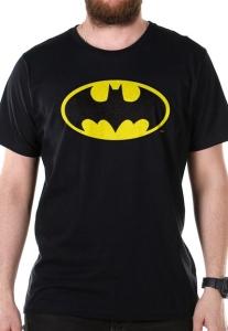 Camiseta Bandup Batman Logo Clássico Preto - R$ 49,90