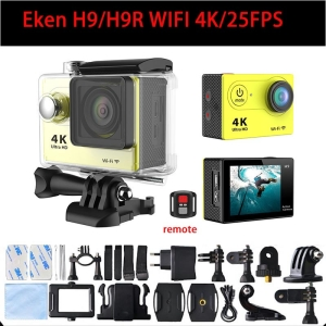 "EKEN H9R 4K  Com Controle Remoto WiFi Tela LCD 2"""