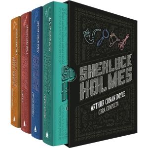 Box - Sherlock Holmes (4 Volumes) R$ 44,91