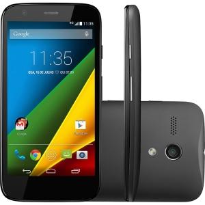 "Smartphone Moto G Android 4.4.3 Tela 4.5"" 8GB 4G Câmera 5MP - R$650"