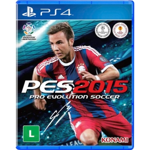 Pro Evolution Soccer 2015 - PS4 - R$ 14,90