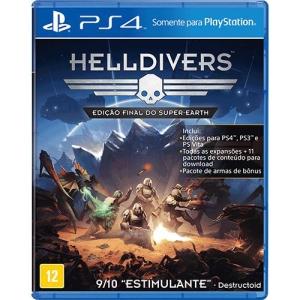 Helldivers - Edição Final do Super Earth (PS4) - R$30