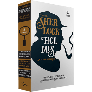 [1x Cartão Submarino] Livro - Box Sherlock Holmes: As Aventuras de Sherlock Holmes (3 Volumes) - R$11,61