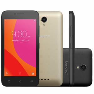 Smartphone Lenovo Vibe B Dual 4G A2016B30 Desbloqueado Preto - R$330