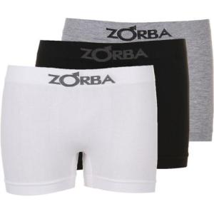 Kit Com 3 Cuecas Boxer Zorba Sem Costura - Black Day Submarino - R$29,88