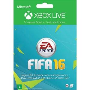 Xbox Live Gold 12 Meses + 1 Mês de EA Access - R$ 98,99