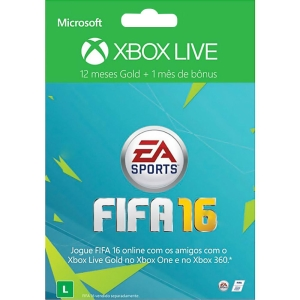 Xbox Live Gold 12 Meses + 1 Mês de EA Access