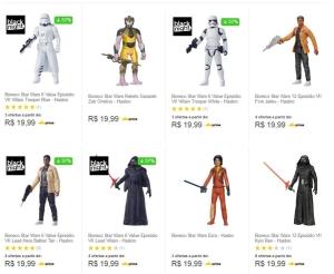 Bonecos Star Wars Hasbro - R$19,99
