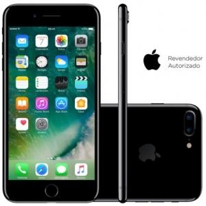 Smartphone Apple iPhone 7 Plus 128GB Desbloqueado Preto Brilhante por R$ 3600