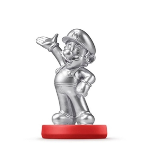 Amiibo Silver Mario Silver - Wii U - R$50