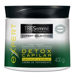 Creme de Tratamento Tresemmé Detox Capilar 400g - R$ 7,11
