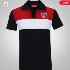 Camisa Polo do São Paulo Racer - Masculina