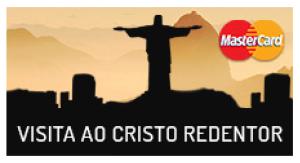 2 ingressos para o Cristo Redentor por 45 pontos | Matercard Surpreenda