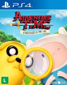 PSN - Jogo Adventure Time: As investigações de Finn e Jake