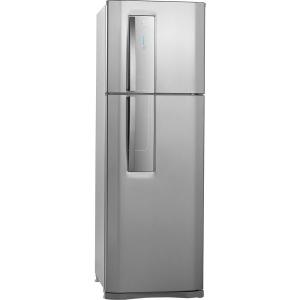 Refrigerador Electrolux Duplex 2 Portas Frost Free DF42X 382L - Inox - 110 volts por R$ 1539