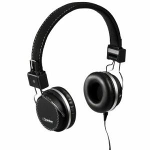 Headphone Bomber Quake cabo flat HB02 Black - R$19,99